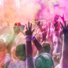 Color Fun Run For Breast Cancer Awareness